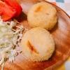 クリームチーズ入り塩鮭のコロッケ