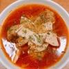 きのことミートボールのボルシチ風スープ