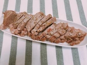豚肉の塩釜焼き6