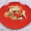 鶏胸肉とパプリカのエスニック炒め