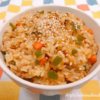 豚ひき肉とたっぷり野菜の甘辛混ぜご飯