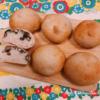 黒豆の煮汁を使った黒豆パン