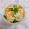 菜花と油揚げの炊き込みご飯
