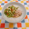 鯖と梅きゅうりのおかゆ
