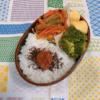 酢豚風甘酢ハンバーグ弁当