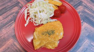 タンドリーチキン風カジキマグロのソテー