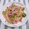 【スパイス大使】GABANピンクペパーを使って、芽キャベツとアボカドのスパゲッティ
